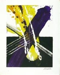 komposition mit balken und streifen by jürgen reipka