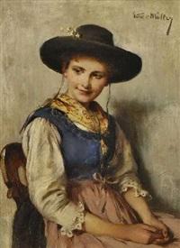 dirndl by emma (edle von seehof) müller