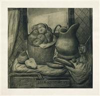 stillleben mit früchten by fernando botero