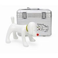 doggy radio × rimowa suitcase limited box set by yoshitomo nara
