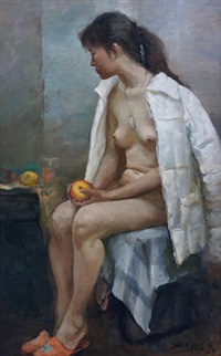 女人体 by liu borong
