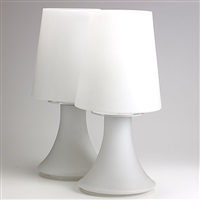 pair of table lamps by laurel lamp (co.)