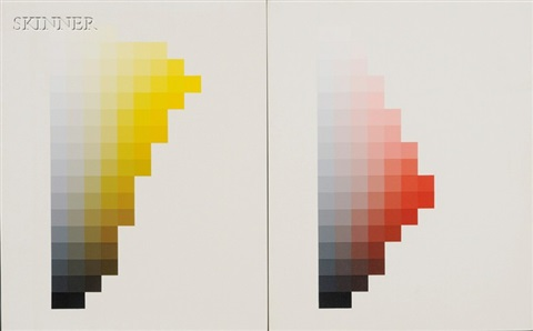 hue 1, hue 6, hue 11, and hue 26 by robert swain