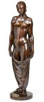 standing woman by arno malinowski