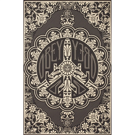 peace bomber by shepard fairey
