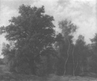 am waldrand an einem sommertag by julius kornbeck
