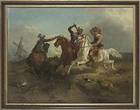 gustav ii adolf vid slaget vid lützen by oskar leonard andersson