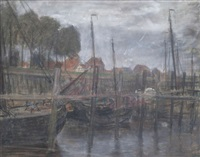 vue portuaire by richard baseleer