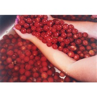 untitled (cherries) by jodie vicenta jacobson