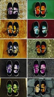 shoes (set of 10) by yin xiuzhen