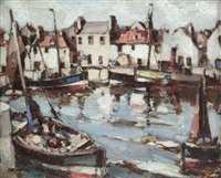 the quay at pittenween by arthur macdonald