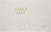 die reismahlzeiten für die neun planeten (from hommage à cladders) by wolfgang laib