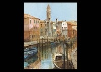 barche-69 and venezia-19 (2 works) by robert roberti