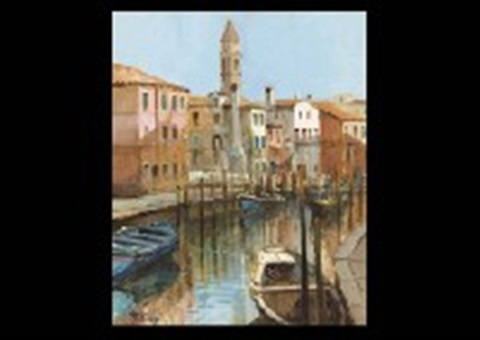 barche 69 and venezia 19 2 works by robert roberti