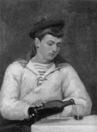 porträt eines jungen matrosen by louis augustus sargent