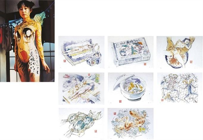 girls don't cry (+ edible artificial girls, mi-mi chan; 2 works) by makoto aida
