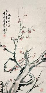 plum blossom by li yuru