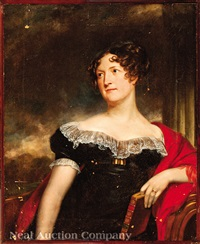 portrait of a lady, possible mrs. william wilson, neé miss carolin fry (1787-1846) by thomas lawrence