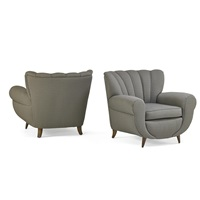 lounge chairs (pair) by guglielmo ulrich