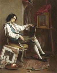 im atelier by eugène accard