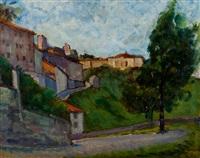 paesaggio bergamasco by umberto vittorini