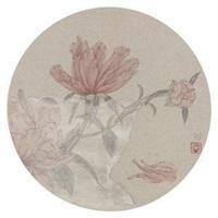 瓶花 by lei miao
