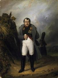 porträt des napoleon bonaparte im feld by paul gomien