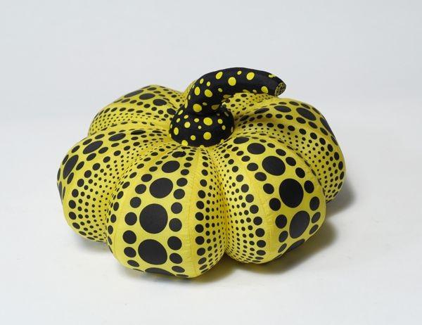 dots obsession pumpkin by yayoi kusama