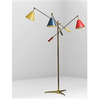 triennale floor lamp by arredoluce (co.)