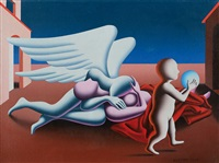 early inheritance by mark kostabi