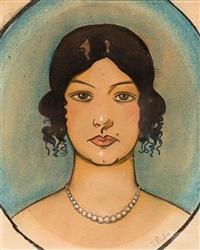 busto de una joven by ramón pichot girones