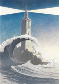 phare culturel by francois schuiten and claude renard