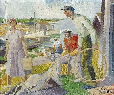 fiskeläge blekinge skärgård by gunnar torhamn