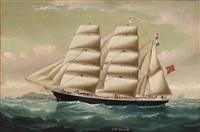 skutemaleri av erato af christiania, capt. a. andersen by william howard yorke