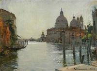 canale di venezia by cipriano mannucci