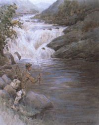 on the mudale, sutherlandshire by jackson simpson