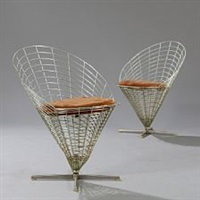wire cone chair by verner panton