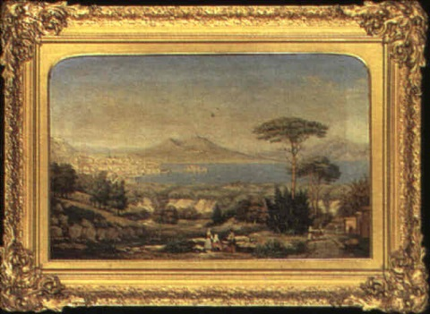 the bay of naples by george gilbert sir scott