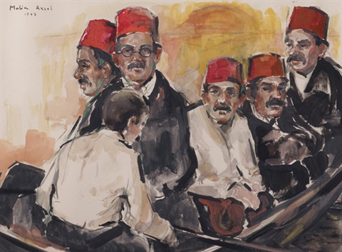 hommes aux fez by malik aksel