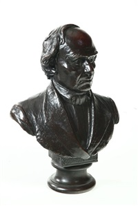 bust of daniel webster by h. daniel webster