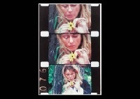 kate manheim with a daisy (+ seventh birthday of kyoko, smllr; 2 works) by jonas mekas