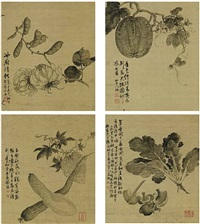 fruits and vegetables (album w/14 works) by jiang yu