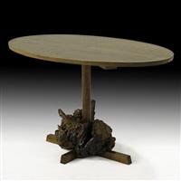 dining table by mira nakashima-yarnall