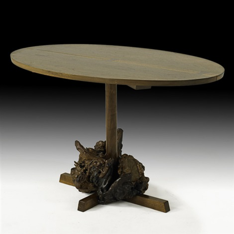 dining table by mira nakashima yarnall