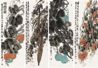 果蔬图 (4 works) by jiang baolin