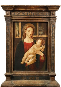 madonna and child by jacopo del sellaio