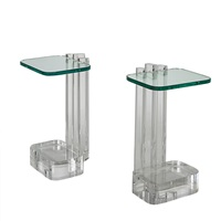 side tables (pair) by les prismatiques