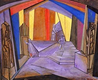 untitled (stage set design) by ignati ignatevich nivinsky