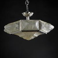 chandelier by verrerie des hanots