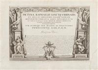 picturae raphaelis sanctii urbinatis ex aula et conclavibus palatii vaticani. roma, domenico de rossi by francesco faraone aquila